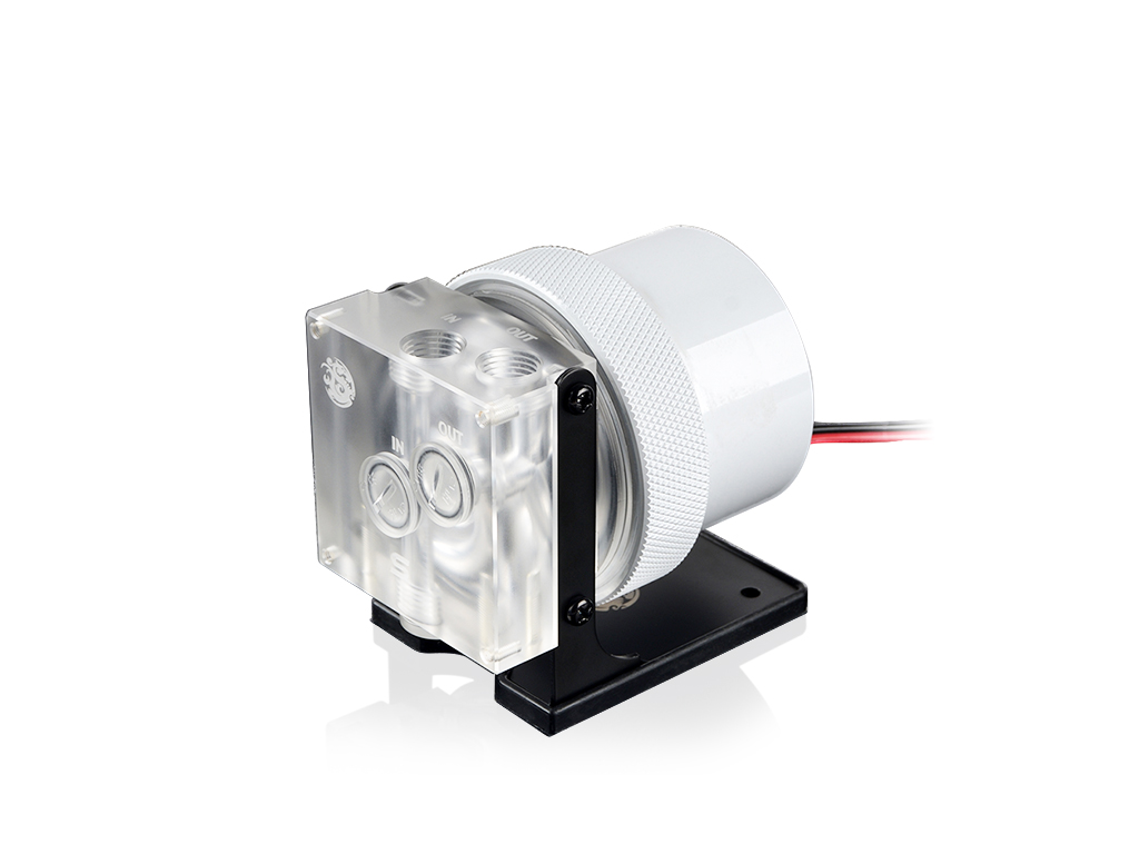 Bitspower D5 MOD Package (Clear Acrylic TOP S + MOD Kit V2 White)