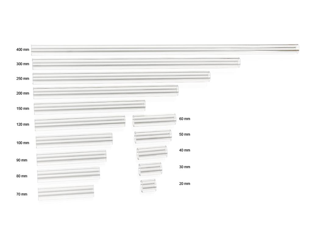Bitspower Crystal Link Tube OD 16MM- Length 100MM ( Pre-CNC )