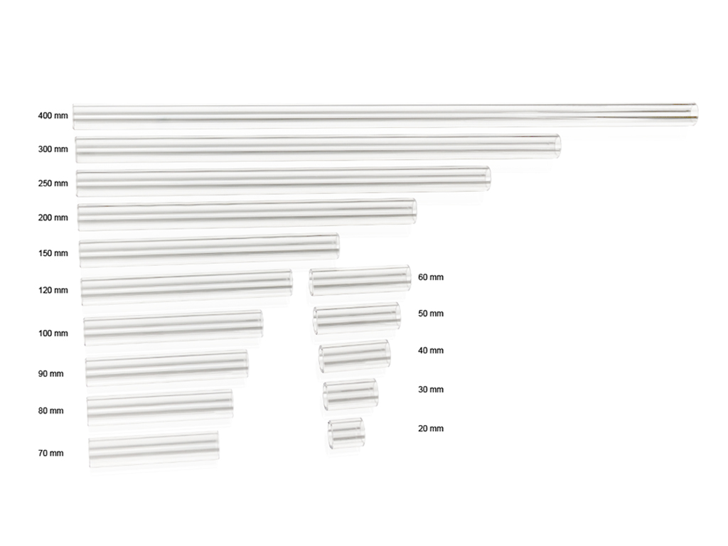 Bitspower Crystal Link Tube OD 16MM- Length 120MM ( Pre-CNC )