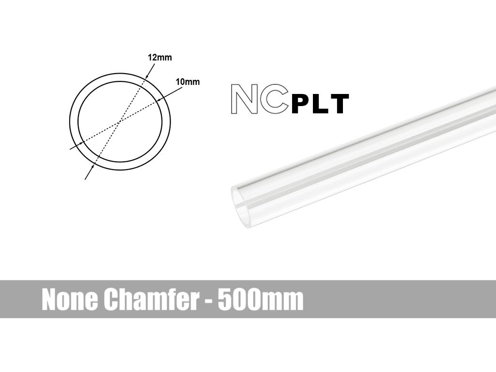 Bitspower None Chamfer PETG Link Tube OD12MM-Length 500MM