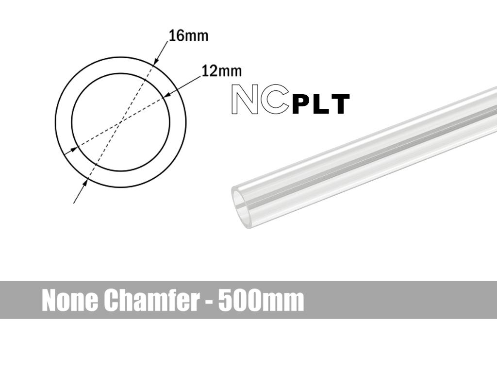 Bitspower None Chamfer PETG Link Tube OD16MM-Length 500MM