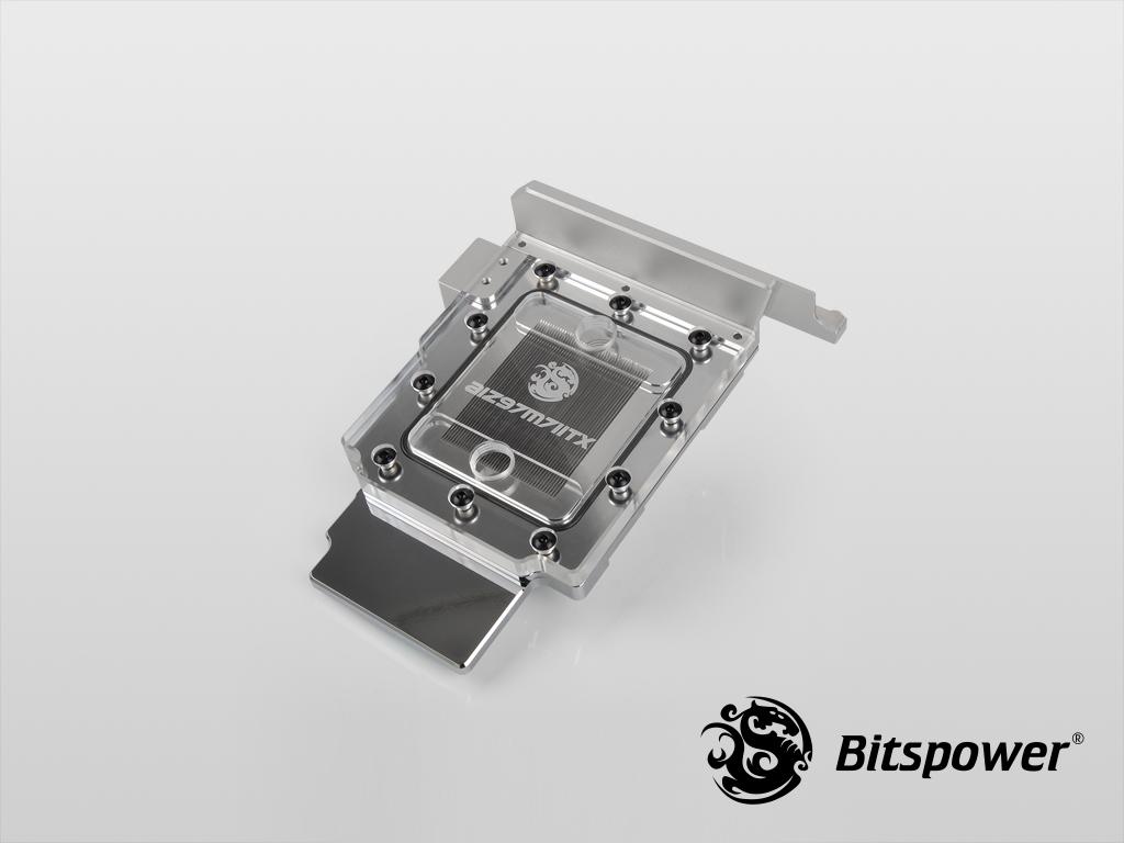 Bitspower AIZ97M7IITX Nickel Plated (Clear)
