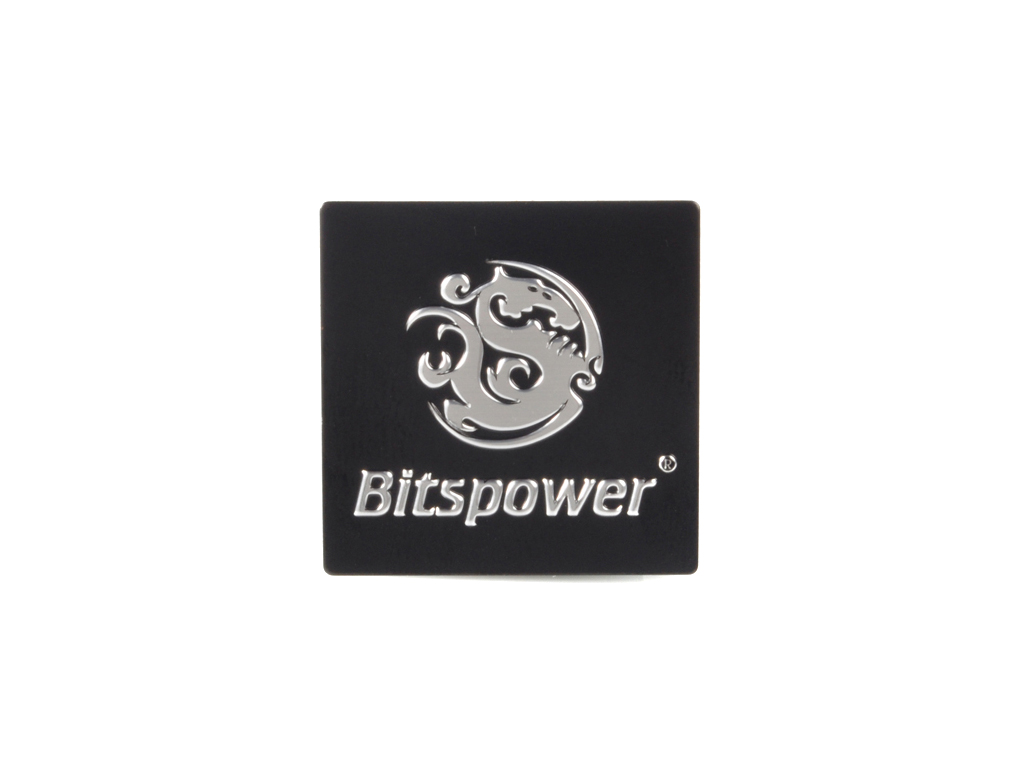 Bitspower Logo Case Badge