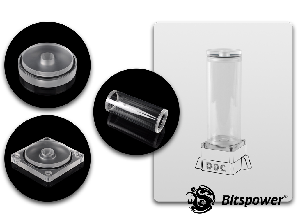 Bitspower DDC TOP Upgrade Kit 150(Acrylic Version)