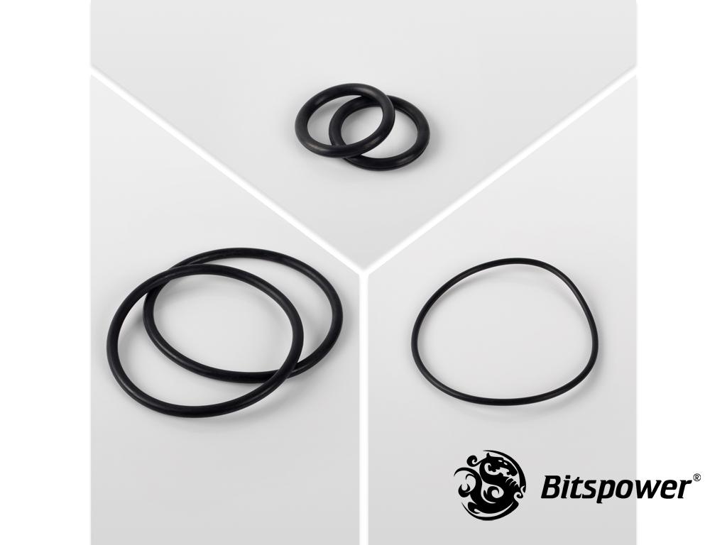 O-Ring Kit For Bitspower Dual D5 MOD TOP (Black)