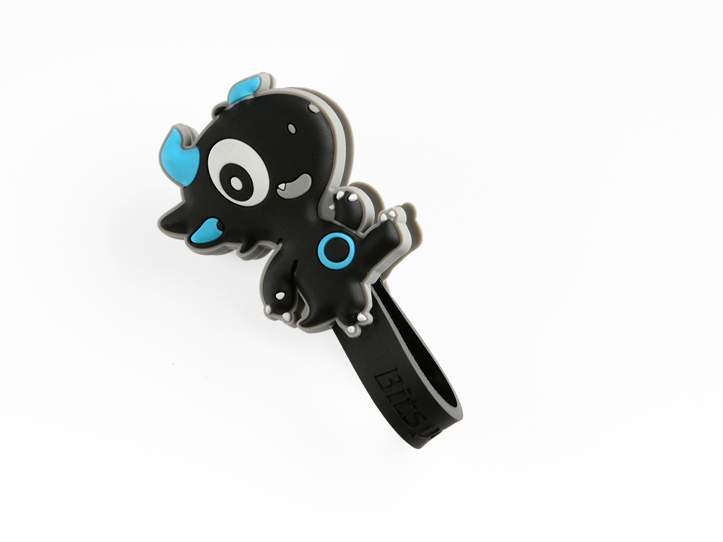 Bitspower Q-Dragon Baby DesignCable Winder Wrap(Blue)