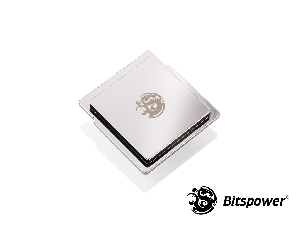 Bitspower CPU Integrated Heat Spreader (Silver Shining)