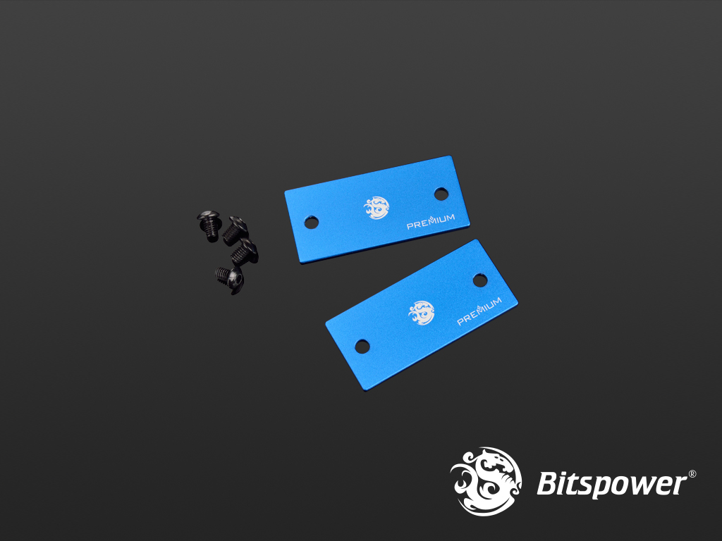 Bitspower Premium Lateral Plate Connection For Magic-Cube DDC TOP (Panel 1)