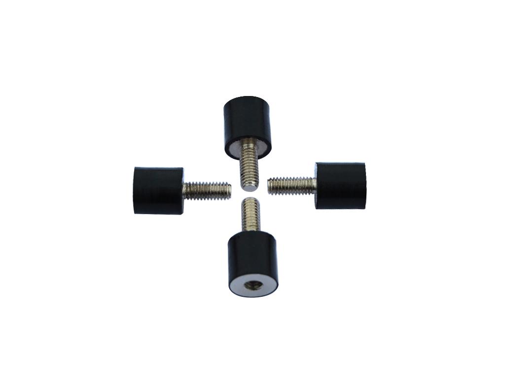Anti-Vibration Rubber Bolts M4  4PCS/Set