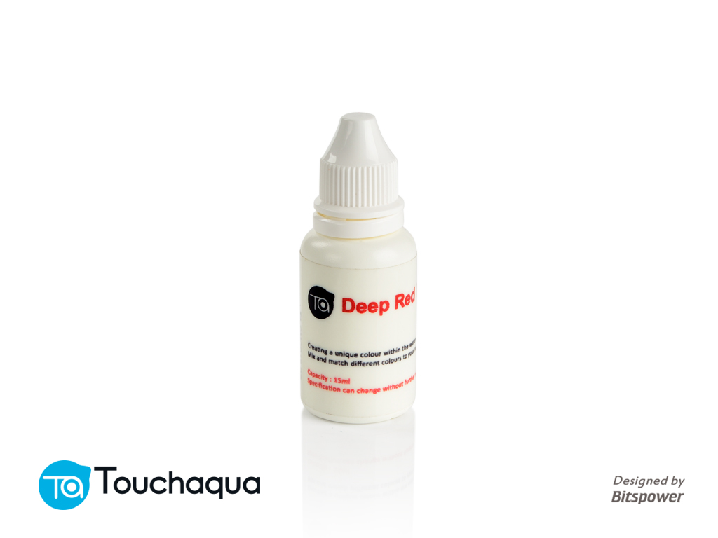 Touchaqua Deep Red Dye 15ml