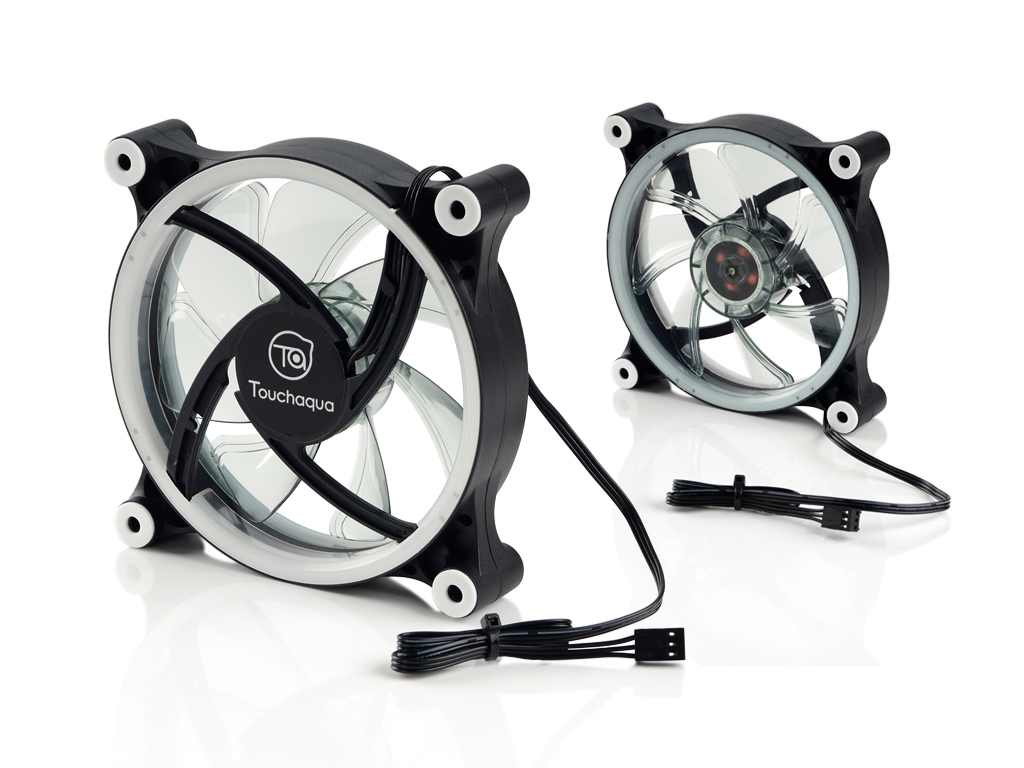 Touchaqua 120 LED Fan (RGB)
