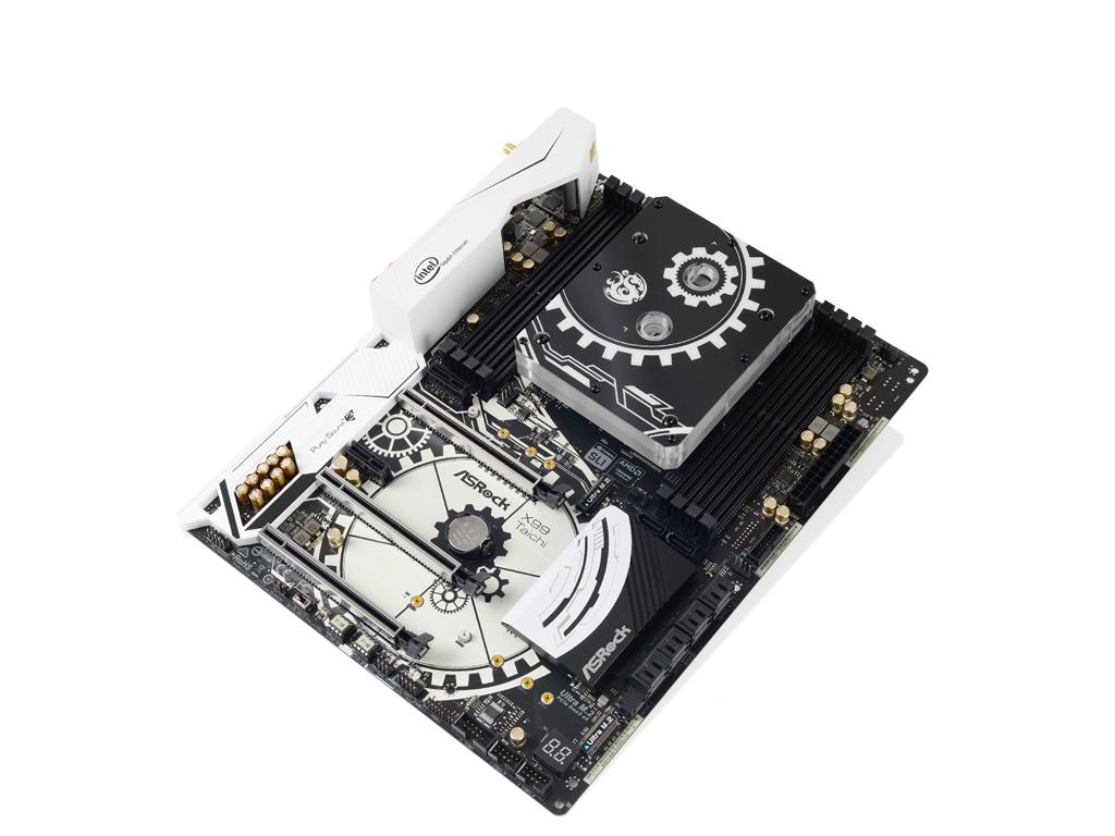 Bitspower ASRock X99 Tai Chi F.C.B. Nickel (Bitspower Design-Tai Chi)