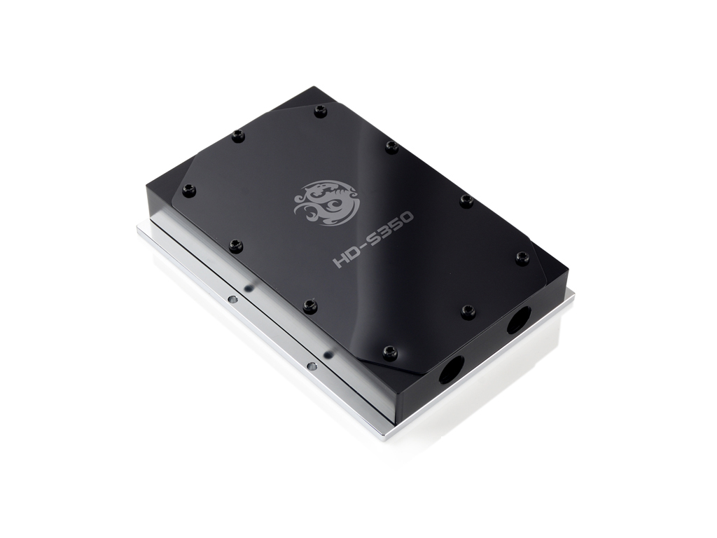 Bitspower HD-S350 POM Top With Black Panel