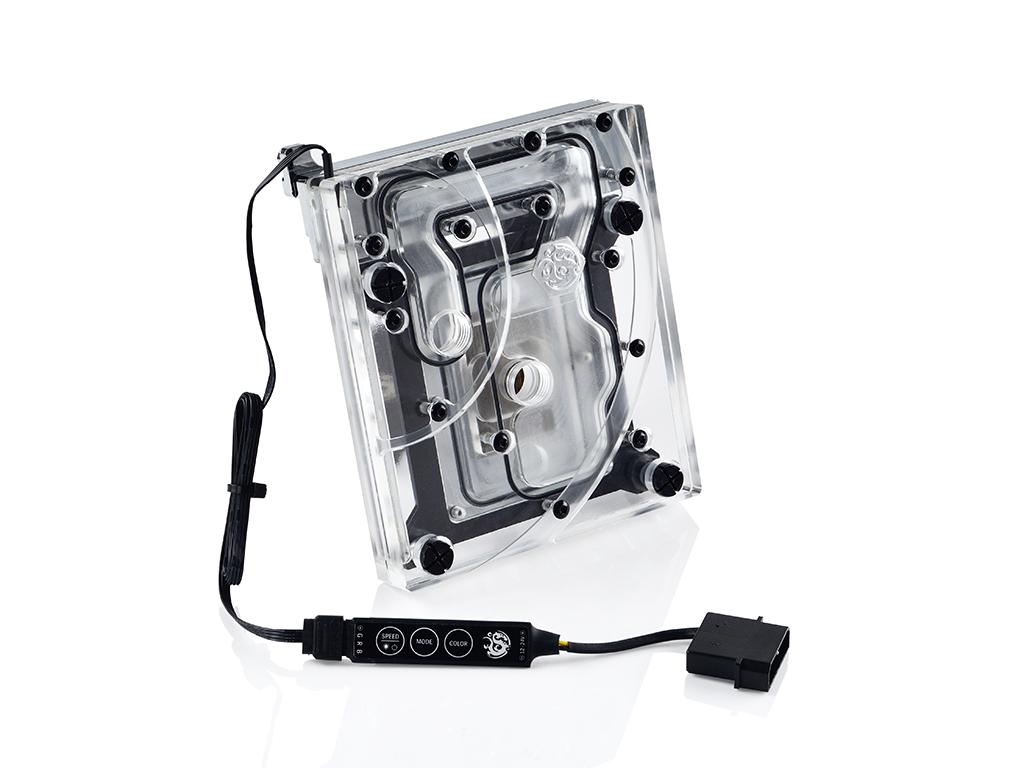Bitspower MonoBlock ASRX299TC RGB-Nickel