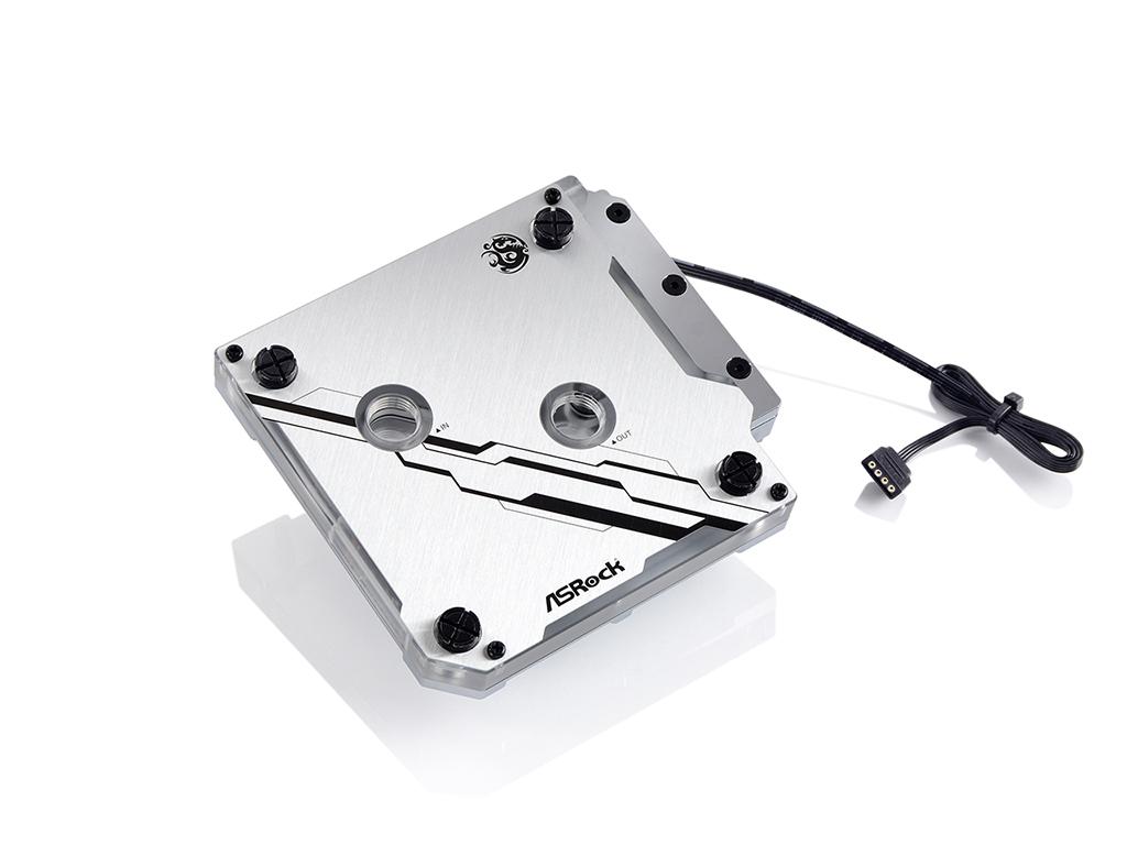 Bitspower MonoBlock ASRX299EI RGB-Nickel