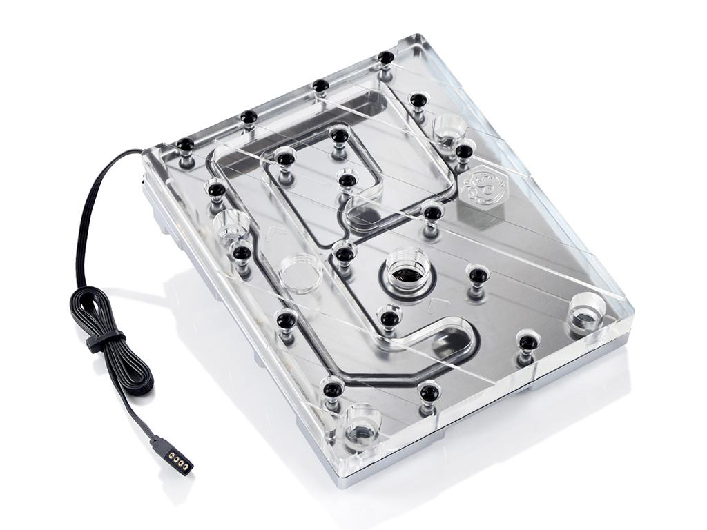Bitspower Mono Block ASX299DLX RGB-Nickel
