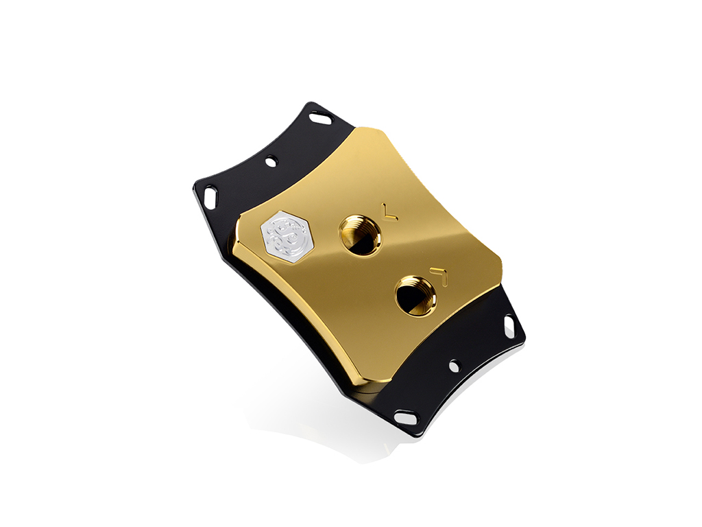 Bitspower CPU Block Summit EF X For AMD AM4 - Golden