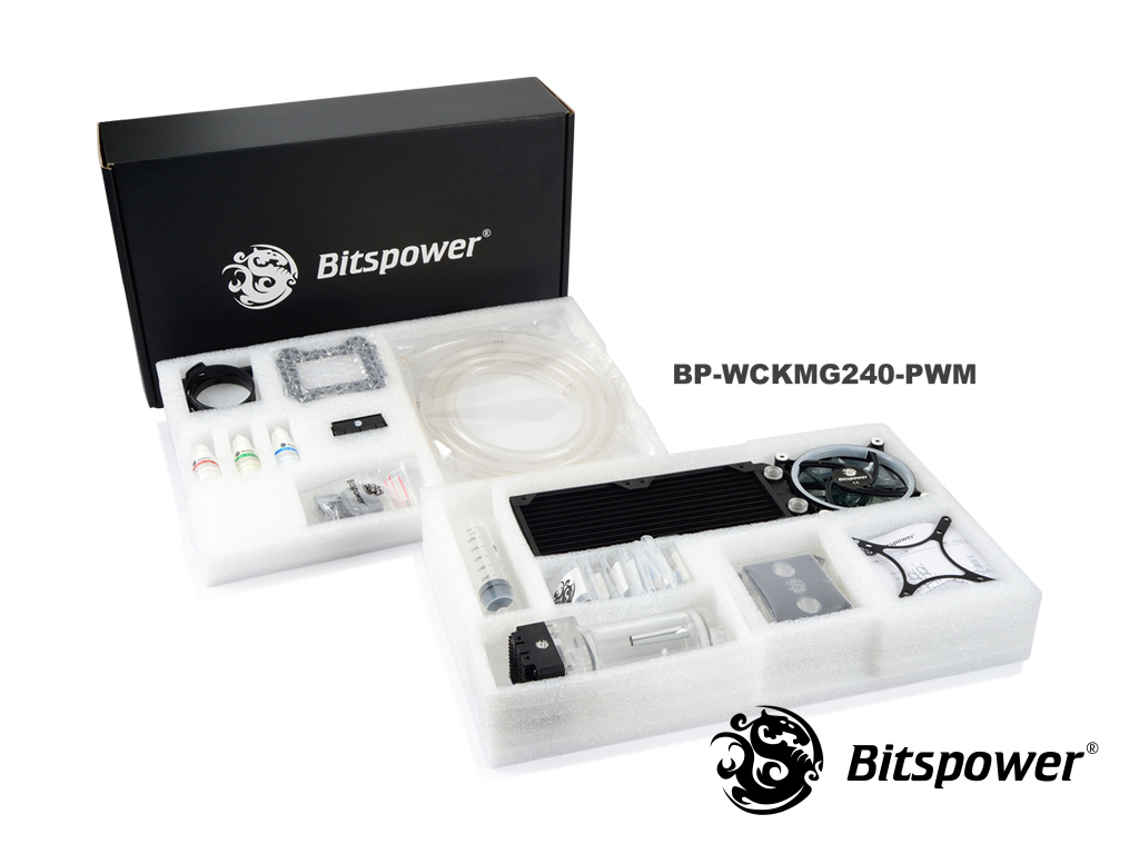 Bitspower Water Cooling Kit Merge Series 240 PWM