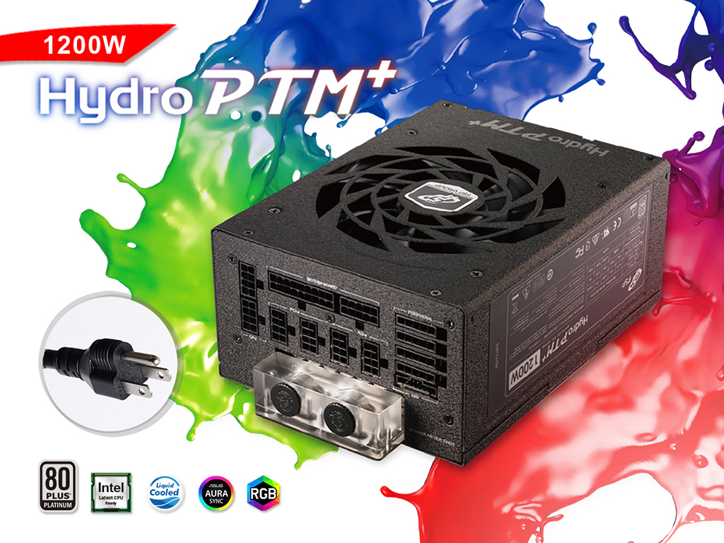Bitspower X FSP Hydro PTM+ 1200W US Specification