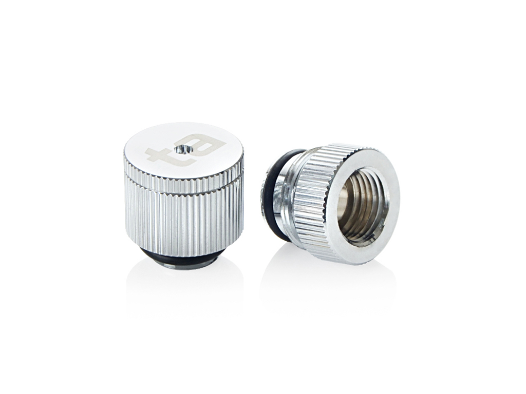 Bitspower Touchaqua water-exhaust fitting (Glorious Silver) (2 PCS )