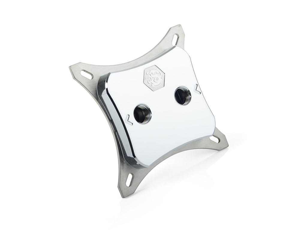 Bitspower CPU Block Summit M Silver Metal Version