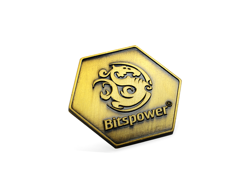 Bitspower Logo Badge I (Zinc Alloy Version)
