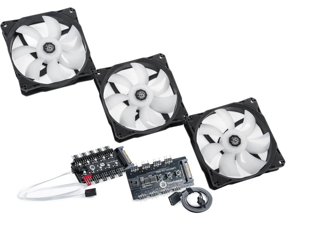 Bitspower Notos 120 Fan Digital RGB (3PCS)