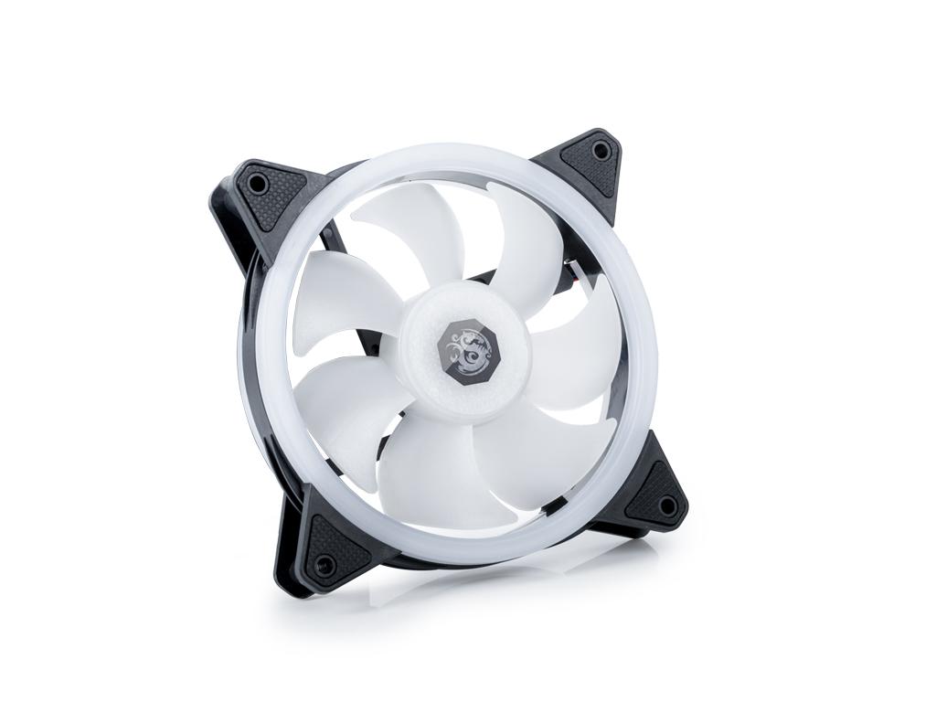 Bitspower NOTOS O 120 PWM Fan Digital RGB