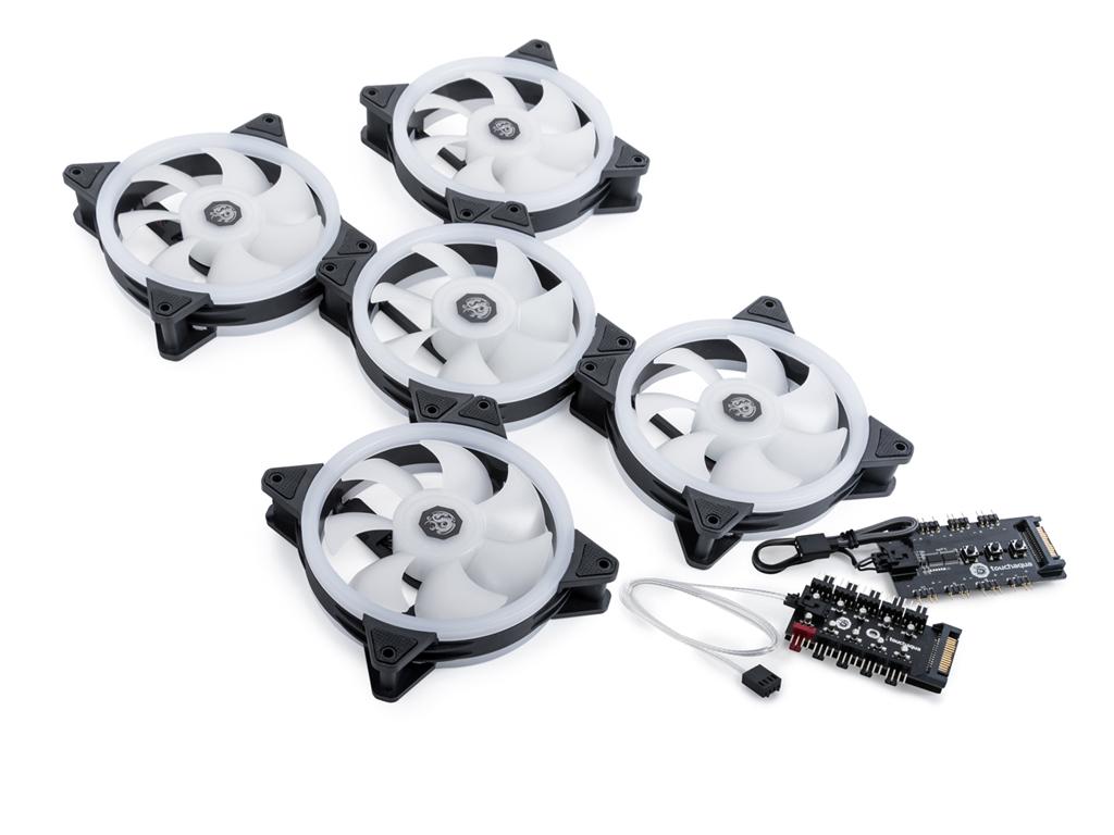 Bitspower NOTOS O 120 PWM Fan Digital RGB (5PCS)