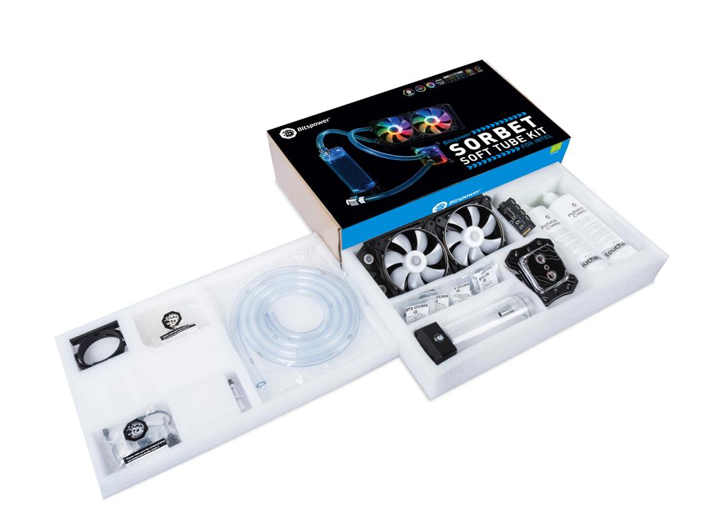 Bitspower Sorbet Soft Tube Kit for Intel